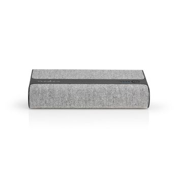 Fabric Powerbank   15,000 mAh   2x USB-A 2 A (max)   Grey