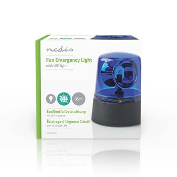 Fun Emergency Light | Blue | 35 ln | 11cm high