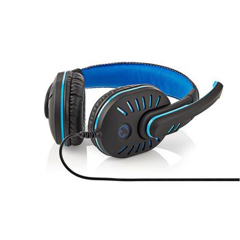 Gamingheadset | Over-ear | Mikrofon | 3.5 mm kontaktdon