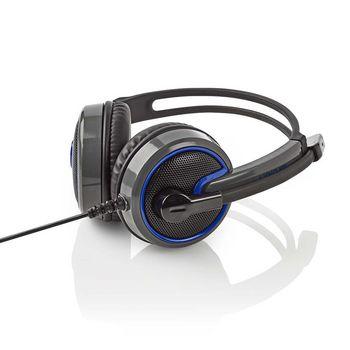 Gamingheadset | Over-ear | Mikrofon | 3.5 mm kontaktdon