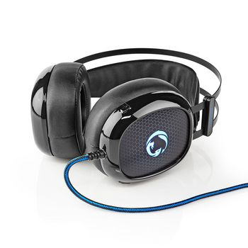 Gaming Headset | Over-ear | Ultra Bass | LED Light | 3.5 mm & USB Connectors