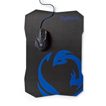 Gaming Mouse & Mouse Pad Set | Wired Mouse | 2400 DPI | 6 buttons