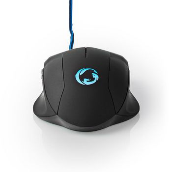 Gaming Mouse | Wired | Illuminated | 2400 DPI | 6 buttons