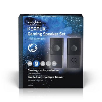 Gaming Speakers | 2.0 | USB powered | 3.5mm jack | 18 W