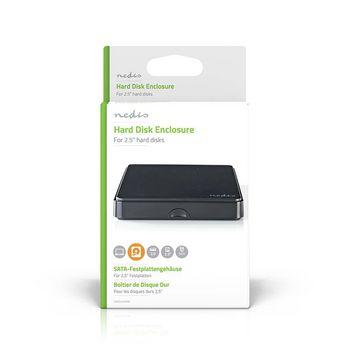 "Hard Disk Enclosure | 2.5 "" | SATA II connection | USB 3.0 | 5 Gbps"