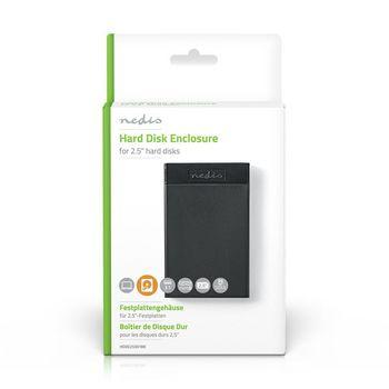 "Hard Disk Enclosure   2.5""   SATA III Connection   USB 3.1   6 Gbps"