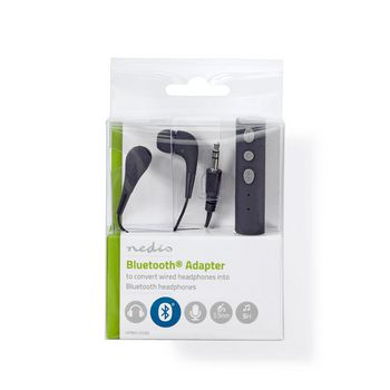 Headphones Adapter | Bluetooth® | Built-in Microphone | Up To 5 Hours Playtime | Free Headphones