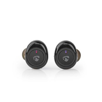 Fully Wireless Earphones | Bluetooth® | Press Control | Charging case | Built-in microphone | Voice control support | Black
