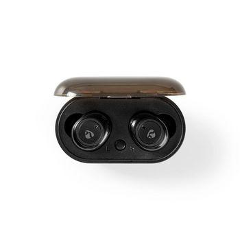Volledig draadloze Bluetooth®-oordopjes | 4 uur afspeeltijd | Spraakbediening | Charging Case | Zwart