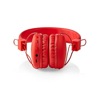 Wireless Headphones | Bluetooth® | On-ear | Foldable | Built-in Microphone | Red