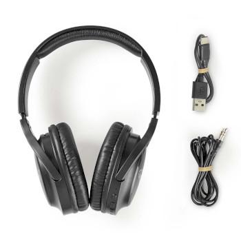 Draadloze Koptelefoon | Bluetooth® | Over-Ear | Zwart