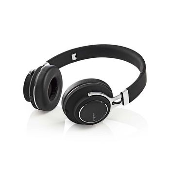 Wireless Headphones | Bluetooth® | On-ear | Travel Pouch | Black