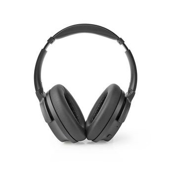 Bluetooth over-ear-hovedtelefoner | 24 timers spilletid | 25 dB Støjreduktion | Hurtig opladning | Sort