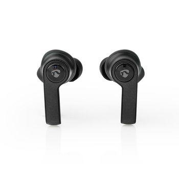 Helt trådlösa Bluetooth®-hörlurar | 3.5 timmars speltid | Laddningsfodral | Svarta