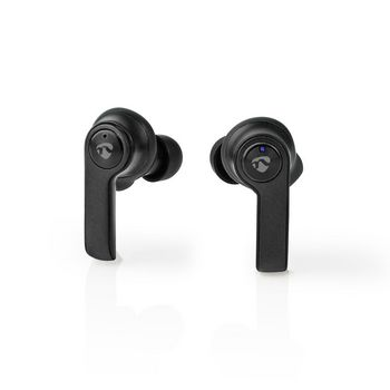 Fully Wireless Bluetooth® Earphones | 3.5 Hours Playtime | Charging Case | Black