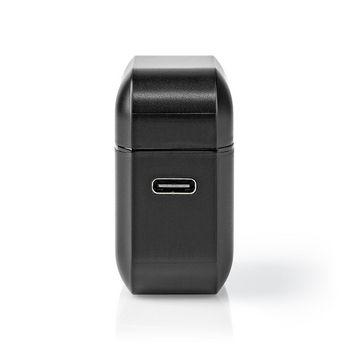 Écouteurs Bluetooth® Entièrement Sans Fil | 3 Heures d'Autonomie | Commande Vocale | Étui de Chargement | Noirs