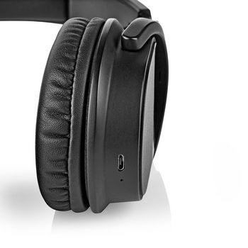Wireless Headphones | DAB+ / FM / Bluetooth® | Over-Ear | Foldable | Travel Pouch | Black