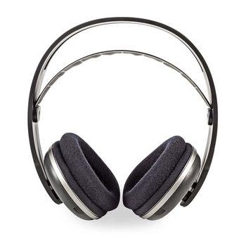 Trådløse hodetelefoner   Radiofrekvens (RF)   Over øret   Ladesokkel   Sort/sølv