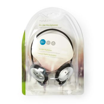 On-Ear Headphones | Wired 2.10 m | Black/Silver