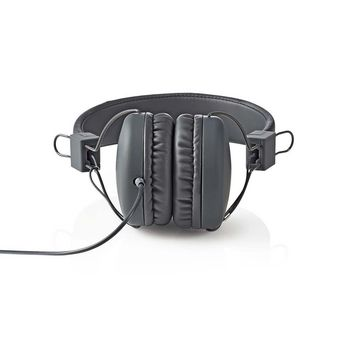 Wired Headphones | On-ear | Foldable | 1.2 m Round Cable | Grey