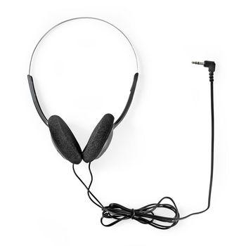 On-Ear Headphones | Wired 1.2 m | Black