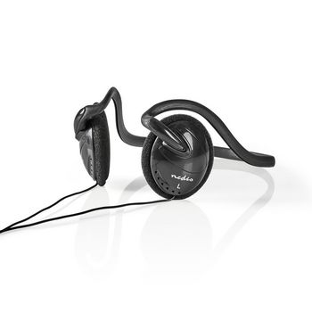 Wired Headphones | 2.1 m Round Cable | On-Ear | Black