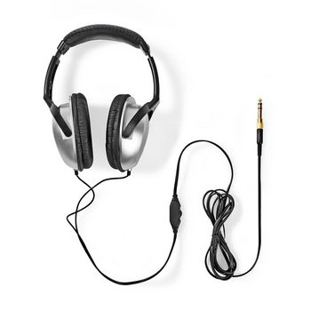 Over-Ear Headphones | Wired 2.70 m | Silver/Black