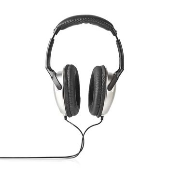 Over-Ear Headphones | Wired 6.00 m | Silver/Black