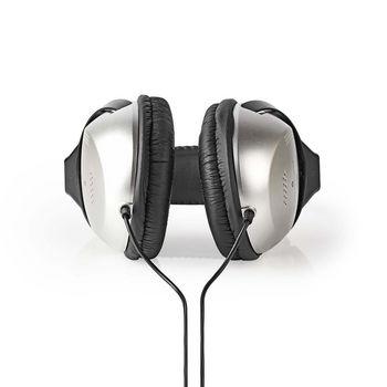 Hodetelefoner Over Øret | Med 6,00 m Ledning | Sølv/Sort