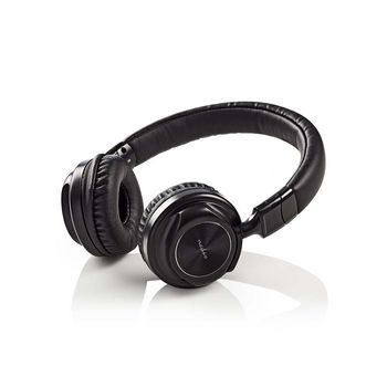 Wired Headphones | On-ear | Foldable | 1.2 m Detachable Cable | Black