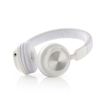 Wired Headphones | On-ear | Foldable | 1.2 m Detachable Cable | White