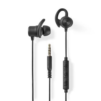 Sport Headphones | Wired | In-Ear | 1.2 m Cable | Black