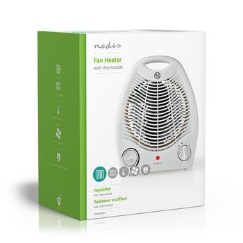 Fan Heater | 2000 W | Thermostat