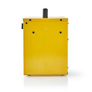 Fan Heater Industrial Design | Thermostat | 3 Settings | 2000 W | Yellow