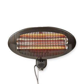 Patio Heater | Wall Mounting | 650 / 1300 / 2000 W | IP34