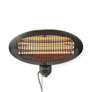 Patio Heater | Wall mounting | 650 / 1300 / 2000 W | IP24