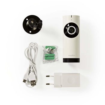IP Security Camera | 1280x720 | Panorama | White / Black