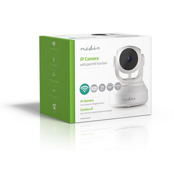 IP Security Camera | 1280x720 | Pan-Tilt | White