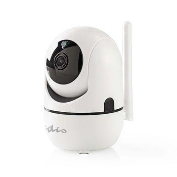 IP Biztonsági Kamera | 1920 x 1080 | Pásztázás és Döntés | Automatikus Mozgáskövetés | Fehér