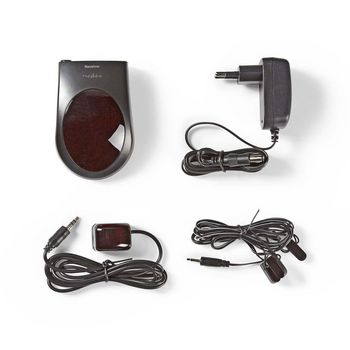 IR Remote Control Extender | 433.92 MHz | Control 3 Devices | 6 m Range | Black