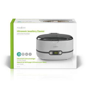 Ultrasonic Jewellery Cleaner | 600 ml Capacity | Digital Timer