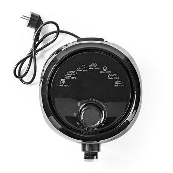 Hot Air Fryer   2.4 Litres   30-Minute Timer   Black