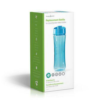 Botella de Repuesto   para la Batidora de Vaso KABL110CBU   0,6 L   Azul