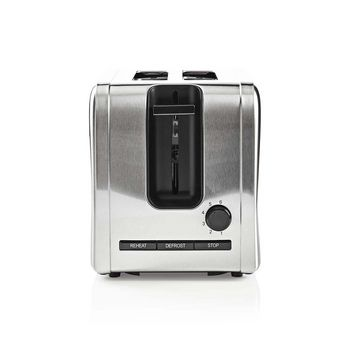 Toaster | 2 Wide Slots | Stainless Steel