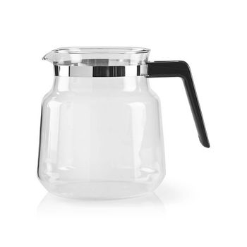 Glass Coffee Jug | Compatible with: Moccamaster K / KB/ 1 0PL / Excellent 10S | 1.2 l | Brown