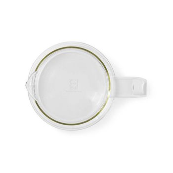 Glass Coffee Jug | Compatible with: Moccamaster K / KB/ 1 0PL / Excellent 10S | 1.2 l | White