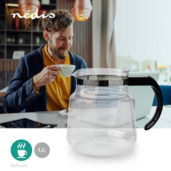Glass Jug | 1.2 L | Black