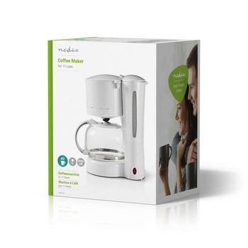 Coffee Maker | 11 Cup Capacity | White
