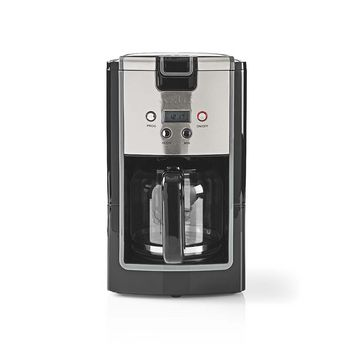 Coffee Maker | 12 Cup Capacity | 24h Timer | Black