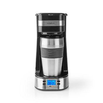 1-Kops Koffiezetapparaat | Dubbelwandige Reisbeker | 0,42 L | Timer